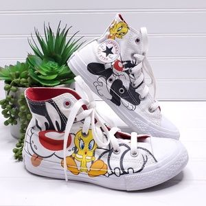 Converse Looney Tunes Kids High Top Shoes 13